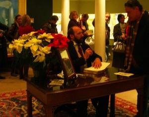 Gerald Charles Dickens at book signing