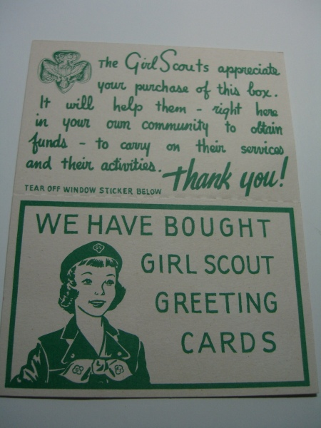 Girl Scout Christmas Cards 001