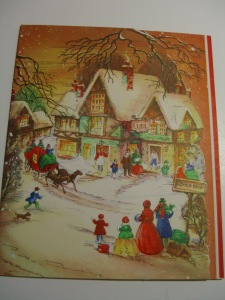 and a Dickens scene, of course!