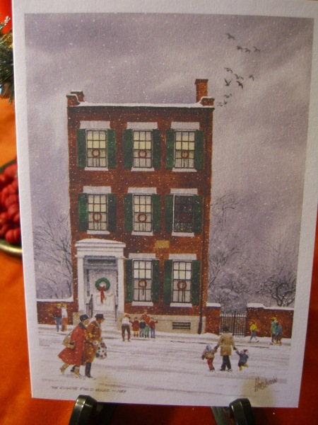 """""""The Eugene Field House and Toy Museum"""" in St. Louis by artist Robert Hanselmann"""