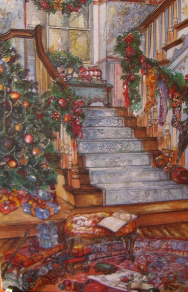 """""""Christmas at Home"""" by Christina Ladas for Pictura Graphica"""