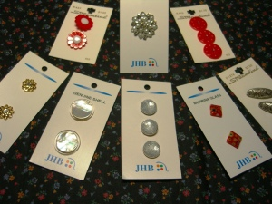Click to Enlarge----a small selection of new buttons . . .