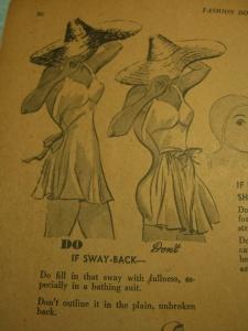 """swayback"" hint"