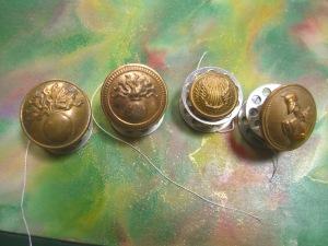 Four various backmarks . . .©booksandbuttons