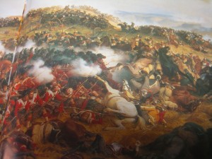 Battle of Waterloo; from the Fleurus edition of Napoleon La Grande Imagerie