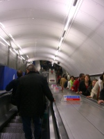 inside the tube London