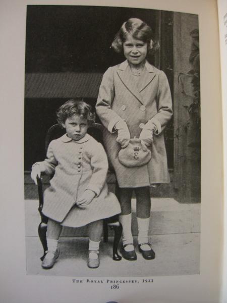 Elizabeth and Margaret Rose 1933 The Royal Princesses z