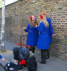 The Sugar Sisters at Portobello Road