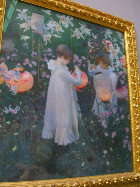 """Carnation, Lily, Lily,Rose"" by John Singer Sargent at the Tate Britain"