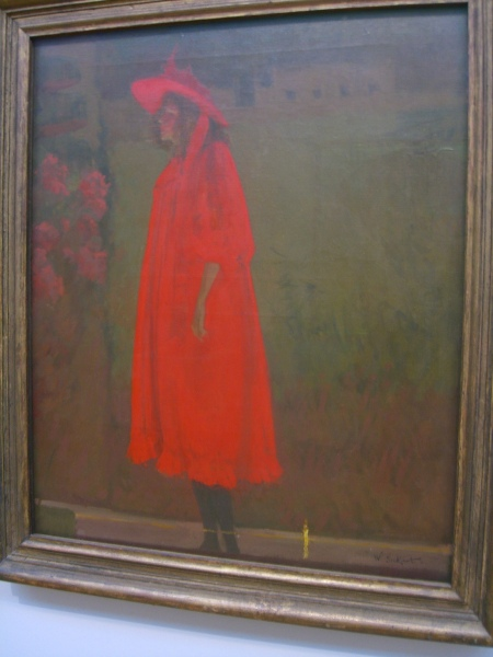 """Minnie Cunningham at the Old Bedford"" 1892 by Walter Robert Sickert Tate Britain"