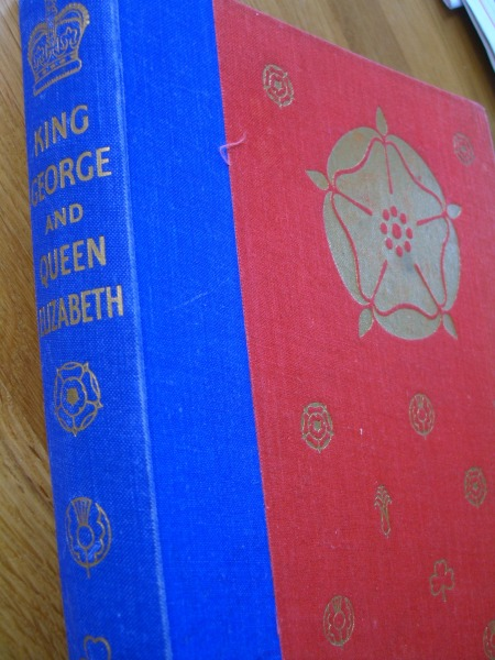 London 6 book King George and Queen Elizabeth 022 x