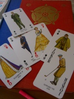 deck of playing cards, English royalty