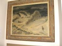 """""""Farmland in Winter"""" by Ernest Fiene"""