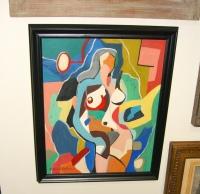 """Female Nude"" by Morris Blackburn"
