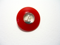 Red Bakelite with sailboat ©booksandbuttons