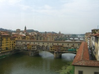 the Arno, Florence Italy