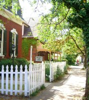 charming street in St. Charles MO